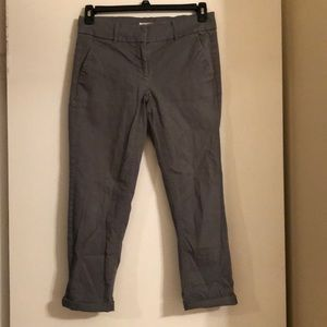 LOFT Chino Marissa Pants in Gray Size 4